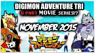 "DIGIMON Adventure Tri 2015 MOVIE 6 Parts ►1st FILM ""Reunion""◄"