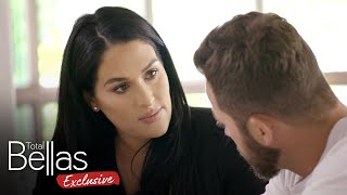 Nikki opens up to Artem about her painful past – Total Bellas Exclusive