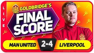 GOLDBRIDGE! Manchester United 2-4 Liverpool Match Reaction