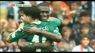 Sportschau vom 29.09.2007 Werder Bremen - Arminia Bielefeld 8:1