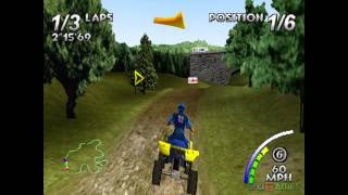 ATV: Quad Power Racing - Gameplay PSX / PS1 / PS One / HD 720P (Epsxe)