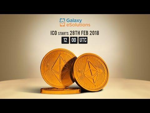 Galaxy eSolutions ICO Starts 28th Feb - 31st Mar UTC 12:00