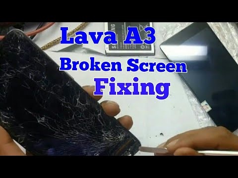 Lava A3  LCD Replacemant