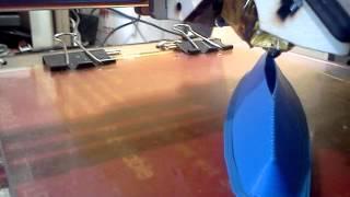 3D принтер печатает корпус моего катамарана