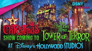 Christmas Show Coming to TOWER OF TERROR at Walt Disney World - Disney News - 9/7/17