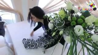 Свадьба в бело-зеленой гамме