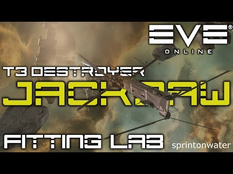 EVE Online: Fitting Lab - The Jackdaw, Caldari State T3D - With METHEA SELENIS