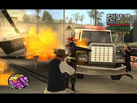 Starter Save - Part 80 - The Chain Game Mod-GTA San Andreas PC-complete walkthrough-achieving ??.??%