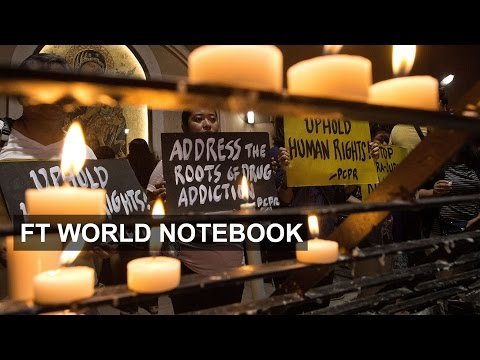 Philippines war on drugs leaves 2,000 dead I FT World Notebook