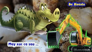 Excavator - Máy xúc đồ chơi, Thiết kế trò chơi máy xúc cá sấu