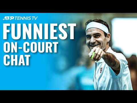 Funny & Weird On-Court Tennis Chat Moments 😂