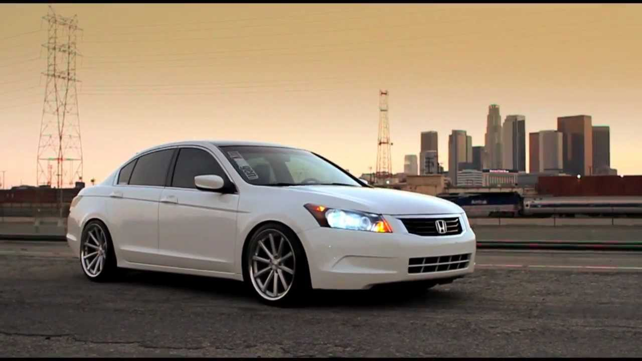 Honda Accord On 20 Quot Vossen Vvs Cv1 Youtube