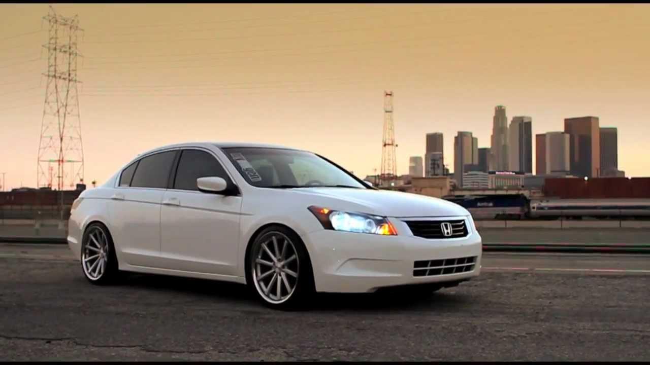 """Honda Accord on 20"""" Vossen VVS-CV1 - YouTube"""