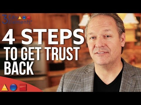 How To Rebuild Lost Trust In A Relationship