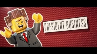 Meet President Business - The LEGO Movie
