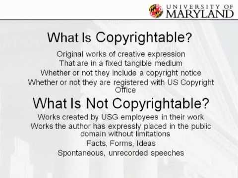 Understanding Online Intellectual Property and Copyright