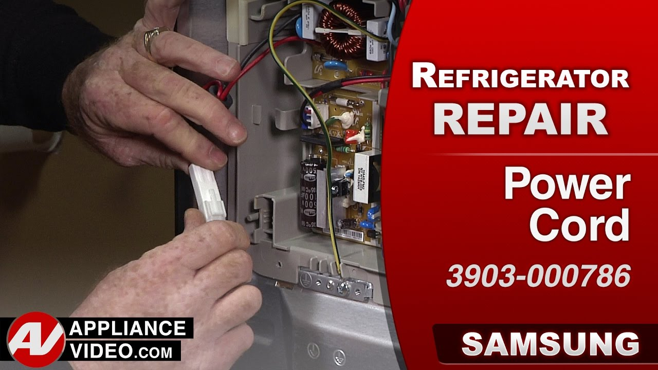 Samsung Refrigerator No Power To Any Components Cord Fisher Connector Fuse Box Repair