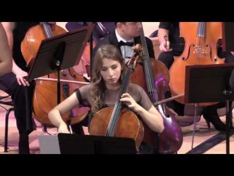 Дали Гуцериева, г. Париж, Франция, зал La Seine Musicale. Выступление с оркестром В. Спивакова
