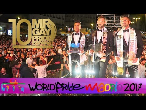 MR GAY PRIDE ESPAÑA 2017 (World Pride Madrid) - Curioso De Todo | edusanzmurillo