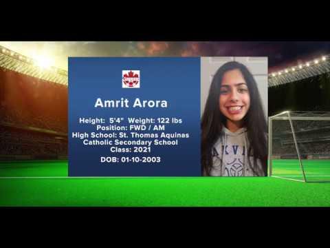 Amrit Arora OPDL Soccer U15  Highlights