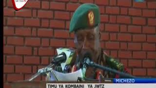 Kombaini Ya Jeshi Yatimkia Burundi