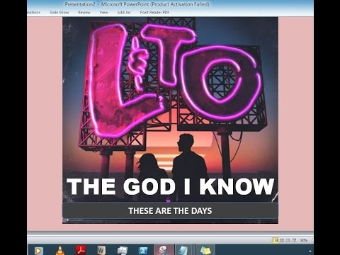 Love & The Outcome - The God I Know (Lyrics)