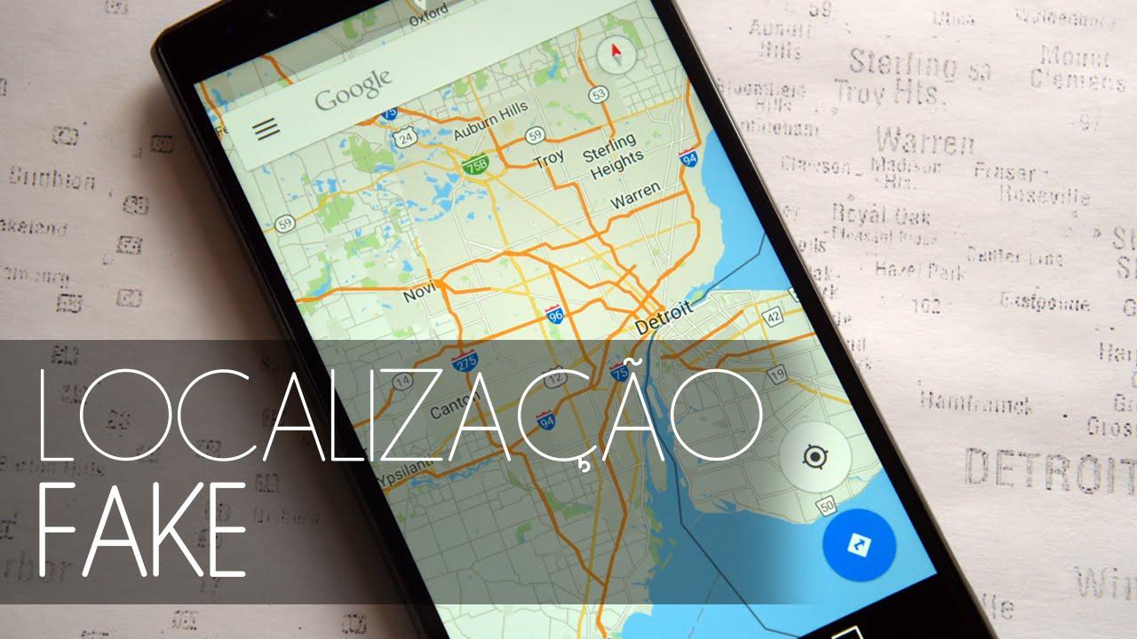 Como mudar a localizao do celular fake location youtube ccuart Gallery