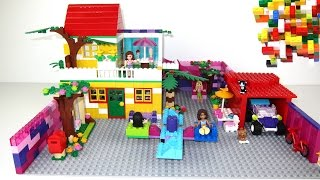 Lego Friends 2 House with Slide For Olivia, Mia, Emma, Stephanie, Andrea.