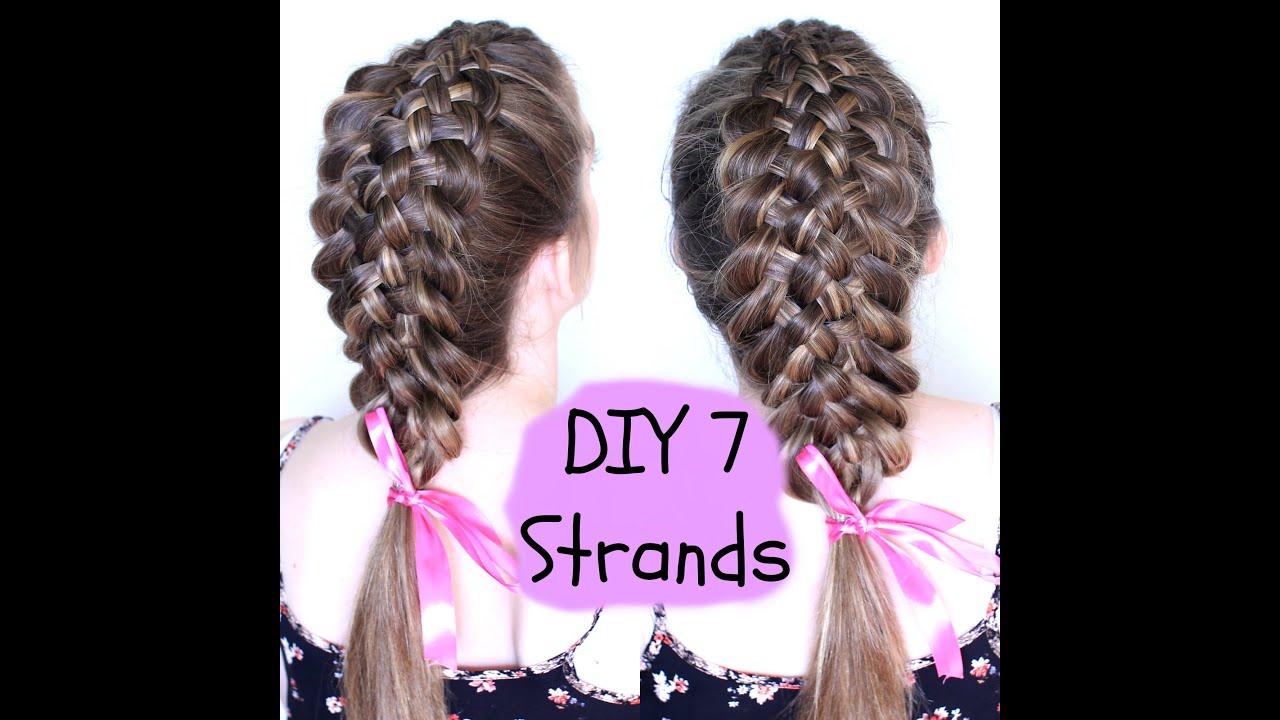 DIY 7 STRAND BRAID | Braidsandstyles12