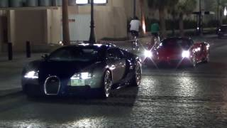 EXTREM - Bugatti Veyron & Enzo Ferrari - Extrem Duo at JBR The Walk in Dubai