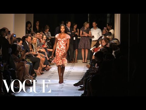 Zac Posen Ready to Wear Spring 2013 Vogue Fashion Week Runway Show