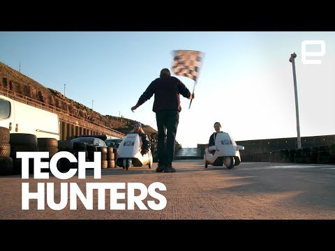 Feeling the need for speed with the Sinclair C5 | Tech Hunters
