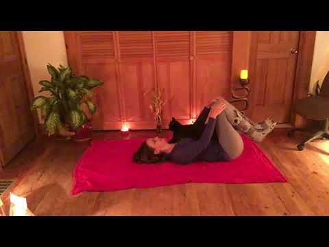 Broken Leg/Ankle/Foot: Low Back Pain Relief Yoga Routine