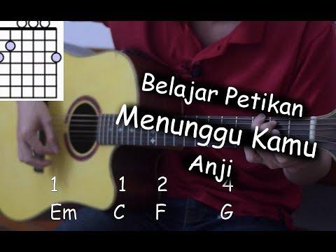 Belajar Gitar (Menunggu Kamu - Anji)