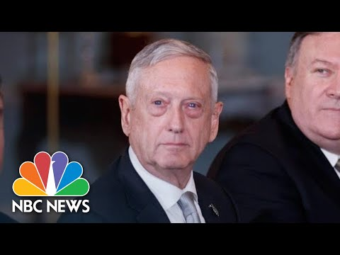 Defense Secretary James Mattis Announces Resignation | NBC N