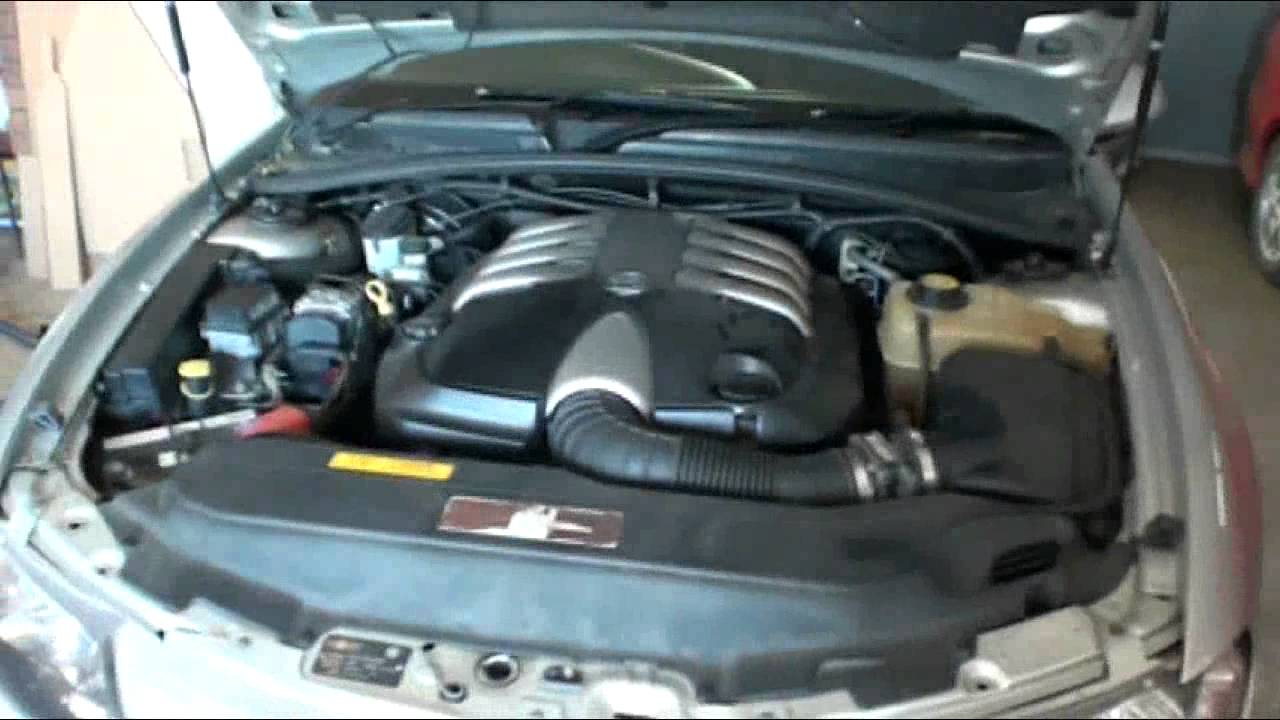 Howto Oil Filter Change On Vx Clubsport Any 5 7l Ls1