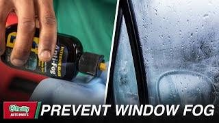 How To: Prevent Your Windows From Fogging Up