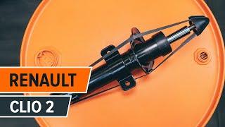 Mudar Cabo de travão de estacionamento RENAULT CLIO II (BB0/1/2_, CB0/1/2_) - vídeos tutoriais