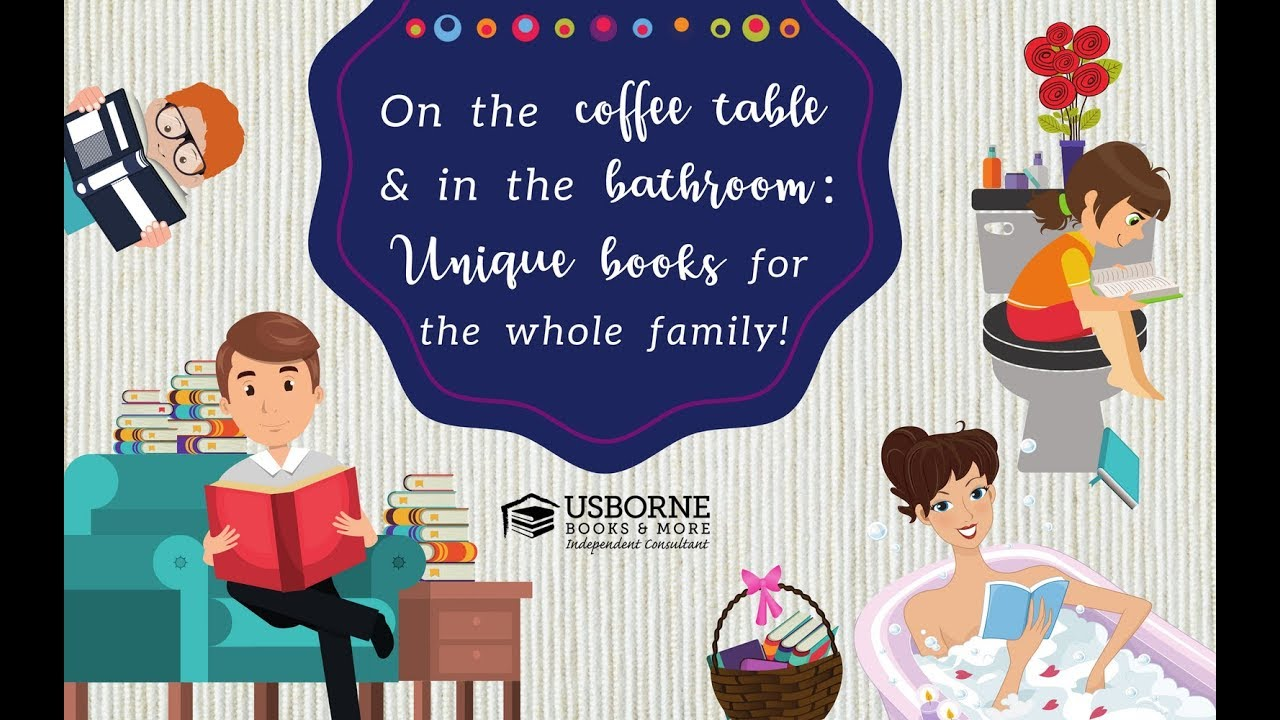 On The Coffee Table In Bathroom Unique Books For Whole Family