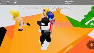 Me being bad at roblox