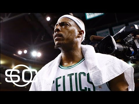 Drama surrounding Paul Pierce jersey retirement ceremony by Celtics | SportsCenter | ESPN