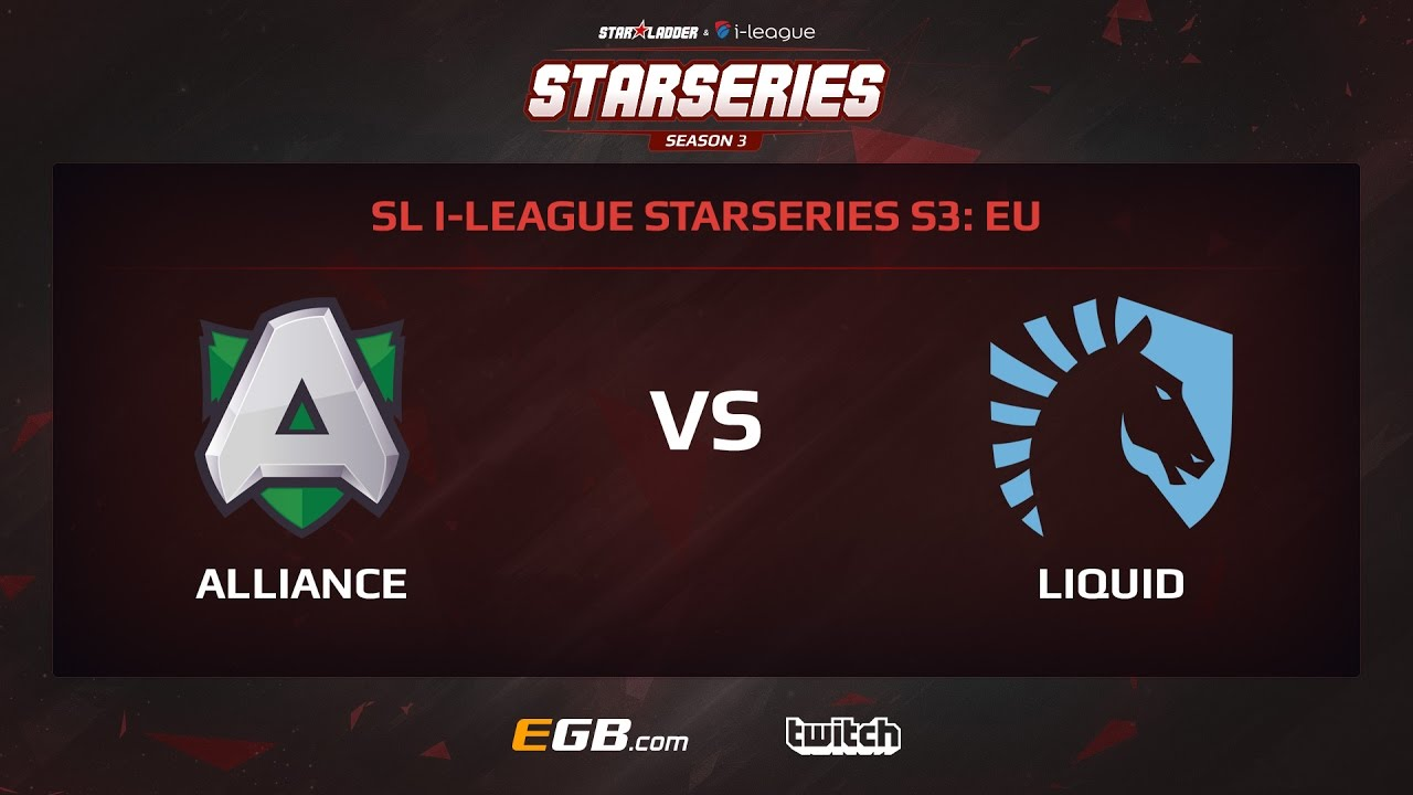 Alliance vs Team Liquid, Game 2, SL i-League StarSeries Season 3, EU