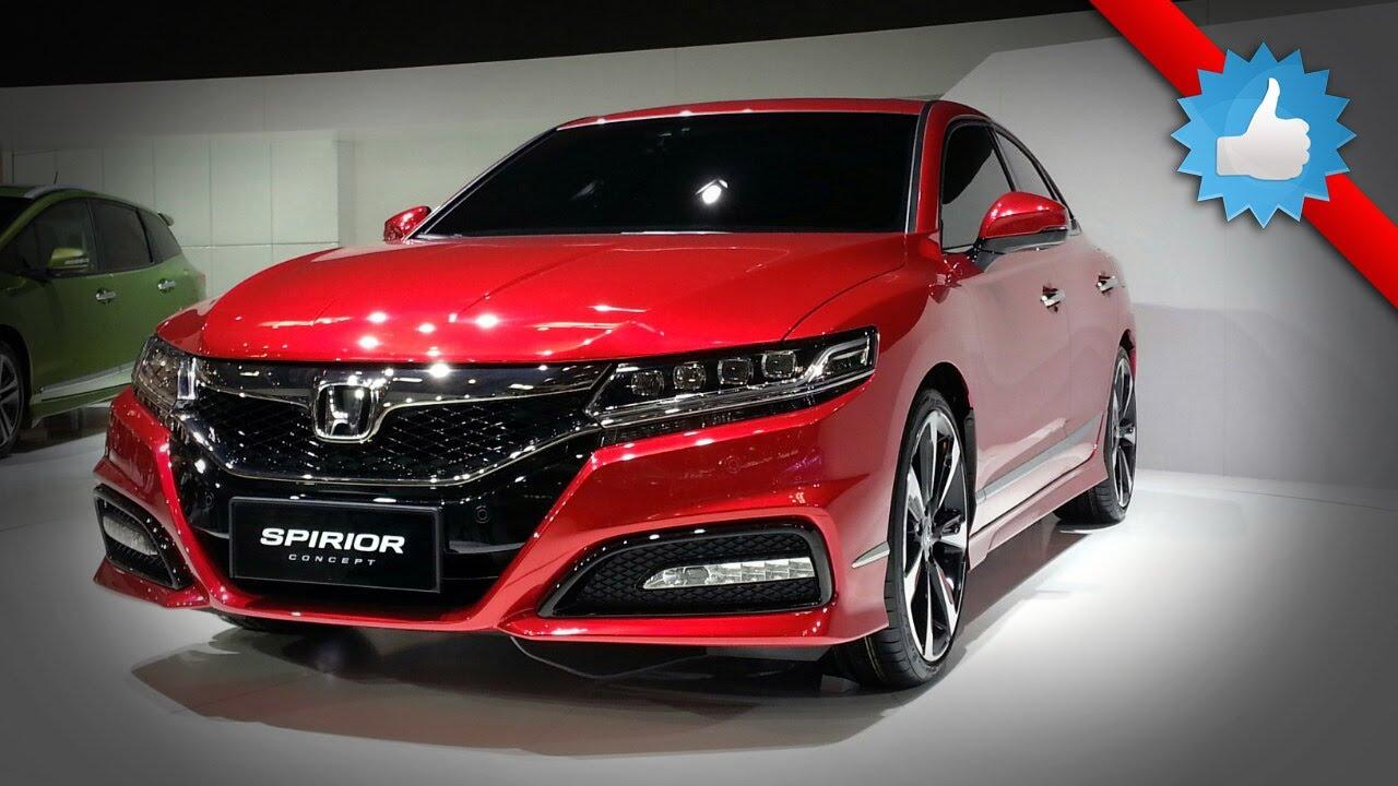 2015 Honda Spirior Concept: Beijing 2014 - YouTube