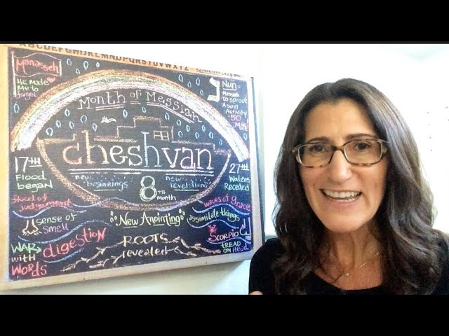 CHESHVAN 5781 Chalkboard Teaching by Christine Vales