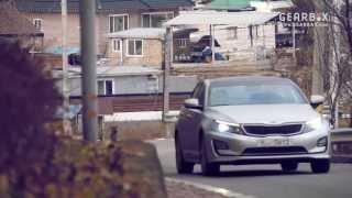 Kia K5 Hybrid test drive