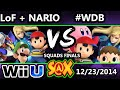 S@X - LoF + Nairo (Blue) Vs. #WeDemBoys (Red) SSB4 Squads Grand Finals - Smash 4 - Smash Wii U