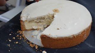 Banana Pudding Cheesecake  CAKE RECIPES