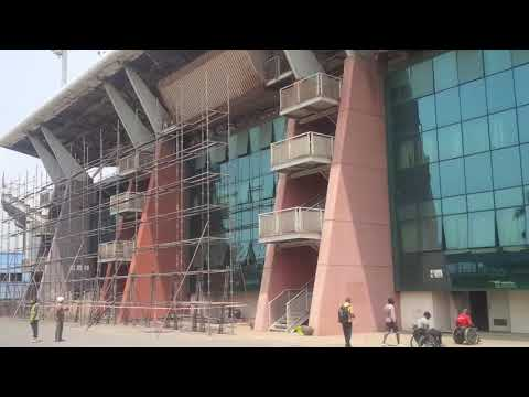 Renovation Work On Accra sports stadium