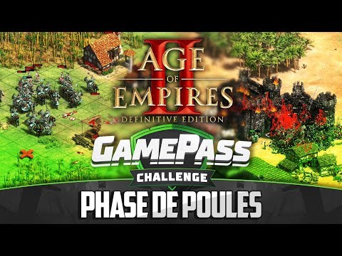 Gamepass Challenge #2 : Phase De Poules / Age Of Empires II Definitive Edition