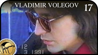 VLADIMIR VOLEGOV. SPEED PORTRAIT. Moscow 1991